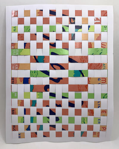 Paper Weaving Instruction 5.5